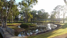 Early Morning Tranquility. Travellers rest haven Ingham :Congratulations Hinchenbrook Shire Stock Photos