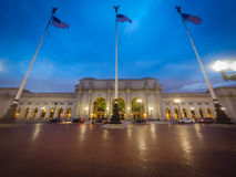 Early morning at Union Station in Washington DC Stock Photography