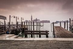 Early morning Venice Italy Royalty Free Stock Photography