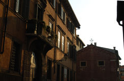 Early morning in Verona. Italy royalty free stock images