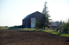 Early morning view of Central Ontario Farm Royalty Free Stock Photos