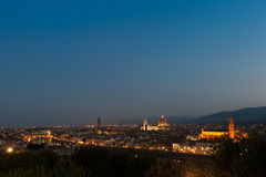 Early Morning view of Duomo Santa Maria Del Fiore Royalty Free Stock Images