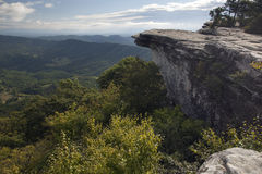 Early morning view from Mcafee Knob on the Appalachian Trail Royalty Free Stock Photography