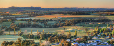 Early morning views Cowra Royalty Free Stock Photo