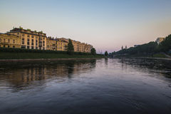 Early morning in Vilnius Royalty Free Stock Photo