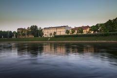 Early morning in Vilnius Stock Photo