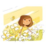 Spring Positive Vibes royalty free stock images