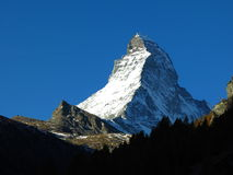 Early morning in Zermatt Stock Photos