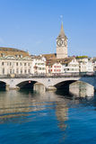 Early morning in Zurich Royalty Free Stock Images