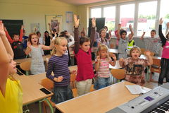 Early musical education Stock Photography