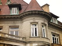 Early 1900s mansion Royalty Free Stock Photography