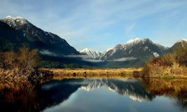 lakes in mountains Stock Photography