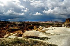 Early spring in Cappadocia. Central Turkey. Royalty Free Stock Photography