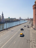 Early spring on the Kremlin embankment Stock Images