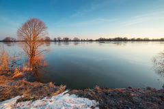 Early spring landscape Royalty Free Stock Photography