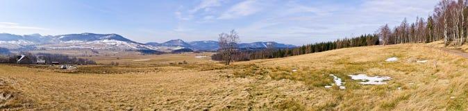Early spring in the mountains, Poland Stock Photos