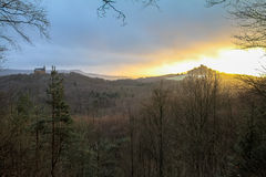 Early Spring Sunset Royalty Free Stock Photos