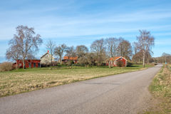 Early spring in Sweden Royalty Free Stock Image