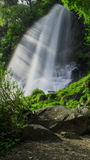 Early summer of waterfall Royalty Free Stock Images
