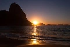 Early Sunrise in the Beach Stock Photos