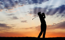 Early Tee Time Stock Images
