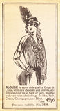 Early 20th century fashion from the Suffragette magazine Stock Photography