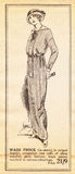 Early 20th century fashion from the Suffragette magazine Royalty Free Stock Images