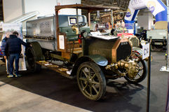 Early 1900 truck at Milano Autoclassica 2016 Royalty Free Stock Photos