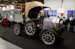 Early 1900 truck at Milano Autoclassica 2016 Stock Photography