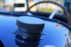 Early twentieth century french sports car fuel cap Royalty Free Stock Image