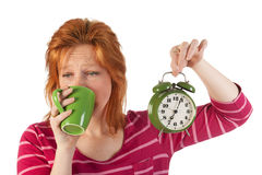 Early wake up Stock Photography