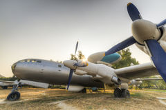 Early warning airplane. China air police first number is the chinese Air force awacs advantage of the former soviet tu-4 bomber modified early warning aircraft Stock Photography