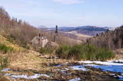 Early winter in Sudetes mountains - Poland Stock Images
