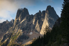 Early Winters Spires Stock Image