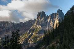 Early Winters Spires Royalty Free Stock Image