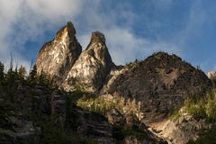 Early Winters Spires Stock Photos