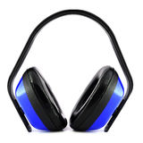 Earmuffs for hearing protection Stock Photography