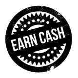Earn Cash rubber stamp Royalty Free Stock Photography