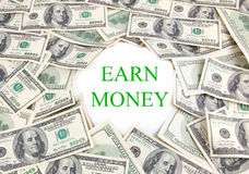 Earn Money Stock Photography