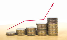 Earn more money Stock Photography