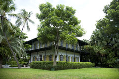 Earnest Hemingway Home in Key West Flroida Royalty Free Stock Image