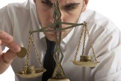 Earning Balance Stock Photography