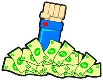 Earning money Royalty Free Stock Photo
