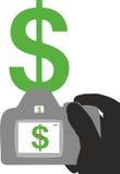 Earning money on photography. Illustration Stock Images