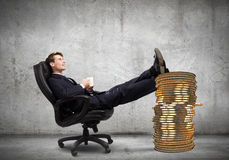 Earning money Royalty Free Stock Images