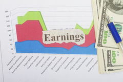Earnings Stock Photos