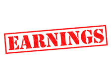 EARNINGS Royalty Free Stock Image