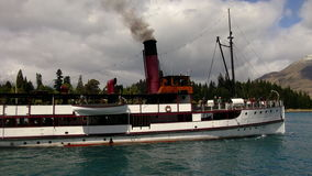 The Earnslaw Lake Wakatipu Queenstown Stock Images