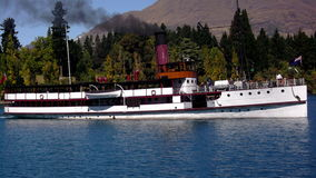 The Earnslaw Lake Wakatipu Queenstown Royalty Free Stock Photography
