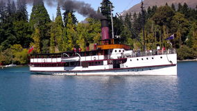 The Earnslaw Lake Wakatipu Queenstown Royalty Free Stock Images
